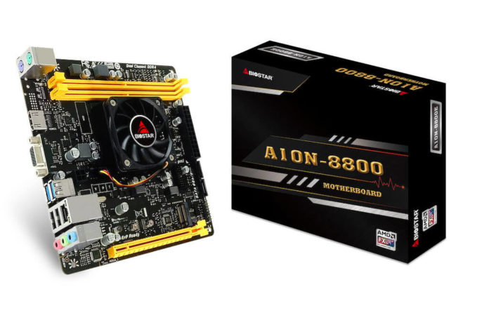 BIOSTAR A10N-8800E V6.1 - nowa rewizja ciekawej płyty mini-ITX 1