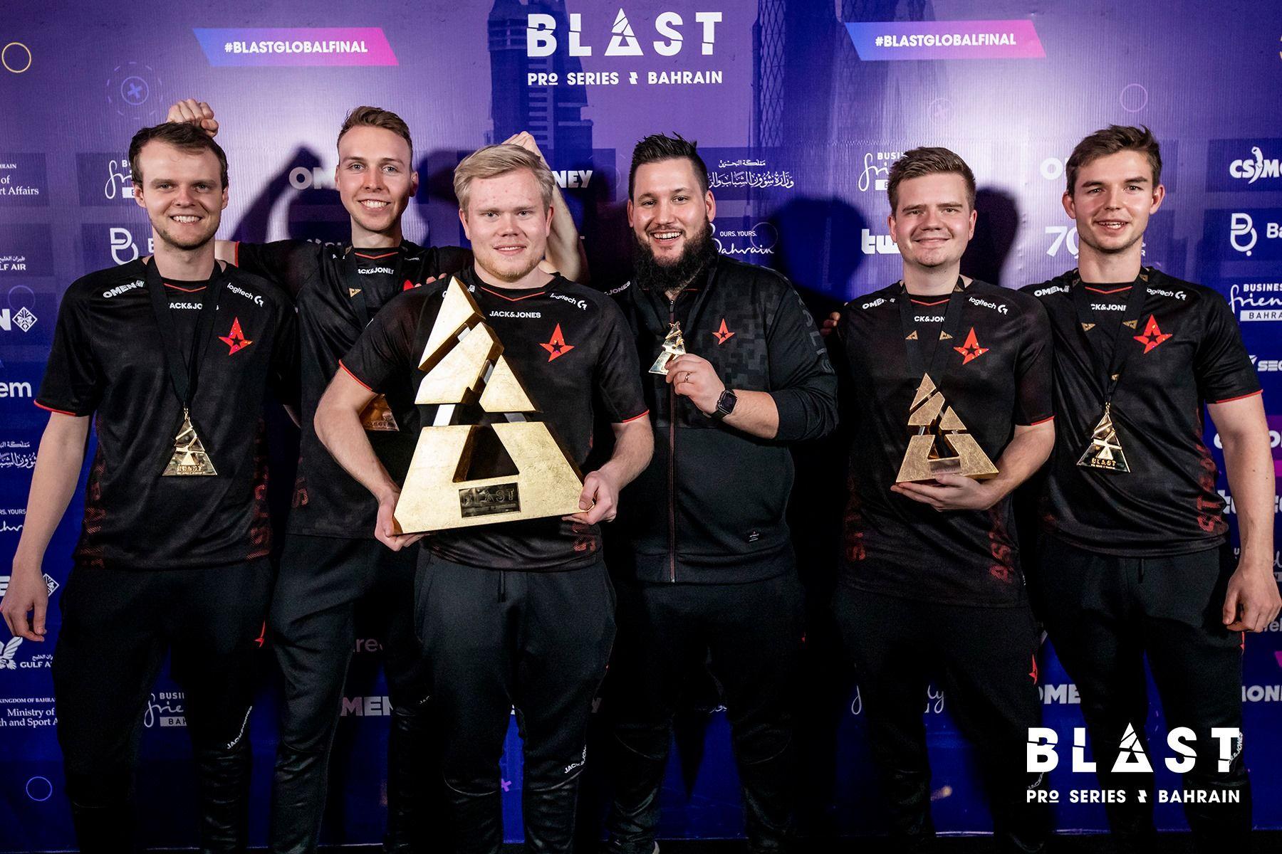 Astralis najlepszym zespołem w cyklu BLAST Pro Series 1