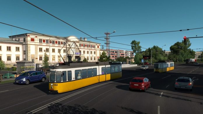 Euro Truck Simulator 2 - Road to the Black Sea - tramwaje