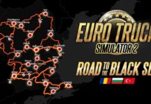 Euro Truck Simulator 2 - Road to the Black Sea - mapa