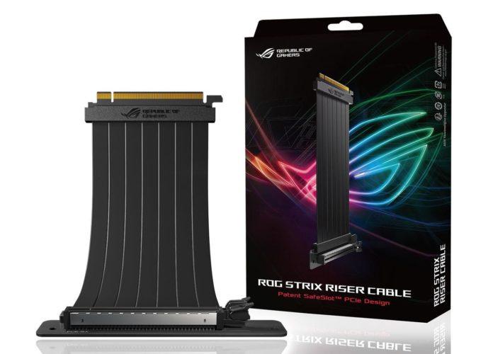 ROG Strix Riser Cable - nowy kabel PCI Express do karty graficznej 2