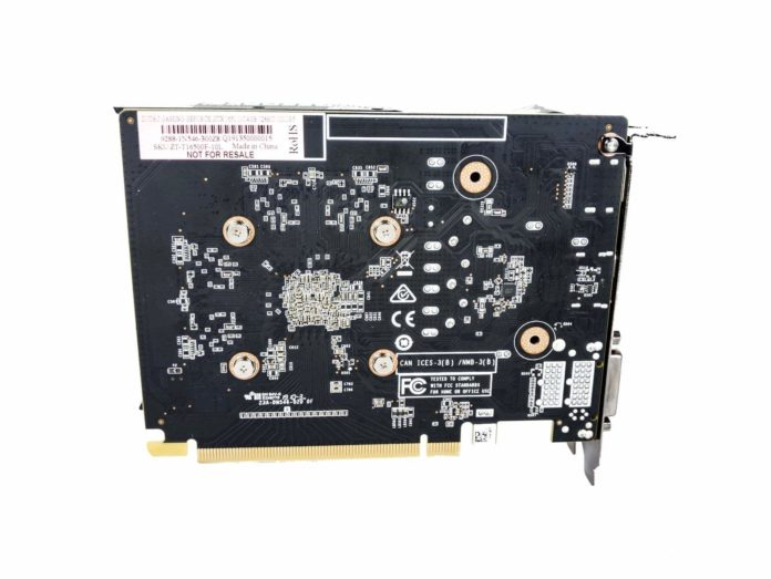 ZOTAC GAMING GeForce GTX 1650 OC - radiator