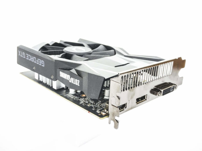 ZOTAC GAMING GeForce GTX 1650 OC - złącza