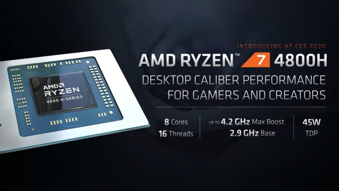 AMD Ryzen 4000H Series