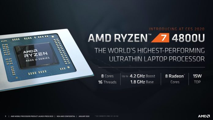 AMD Ryzen 4000U Series