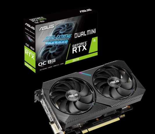 ASUS Dual GeForce RTX 2070 MINI OC