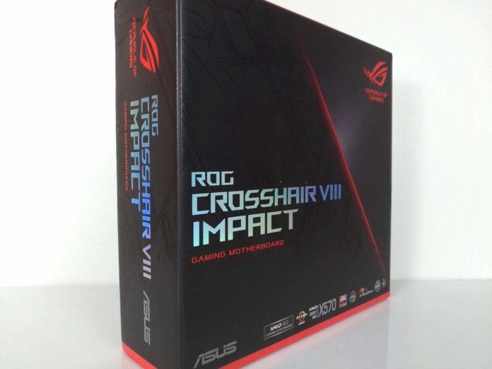 ASUS ROG Crosshair VIII Impact