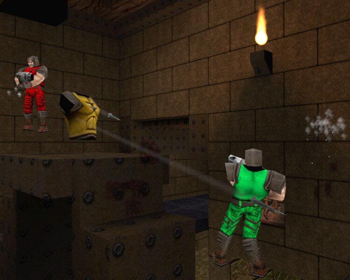 Quake World - Bitwa