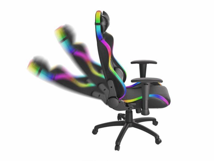 Genesis Trit 600 RGB i Trit 500 RGB - podświetlane fotele dla graczy 1