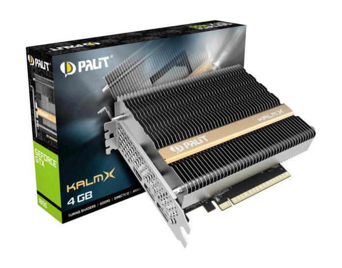Palit GeForce GTX 1650 KalmX – karta z pasywnym chłodzeniem 3