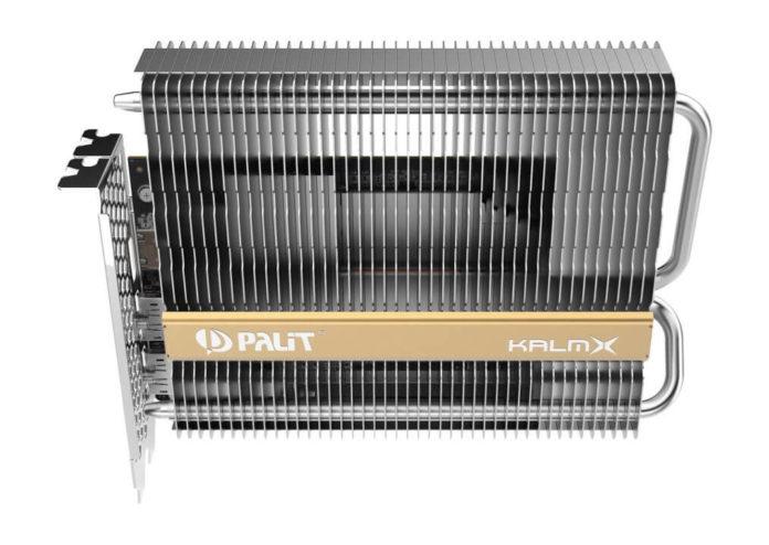 Palit GeForce GTX 1650 KalmX – karta z pasywnym chłodzeniem 1