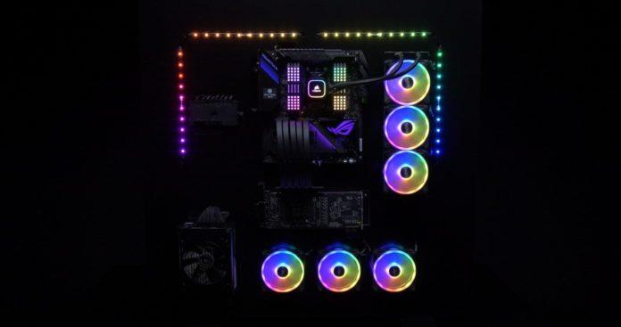 CORSAIR iCUE otrzymuje sterowanie podświetleniem RGB płyt ASUSa 1