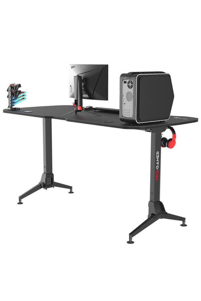 Pro-Gamer D6000 XXL - nowoczesne i przestrzenne biurko dla graczy 4
