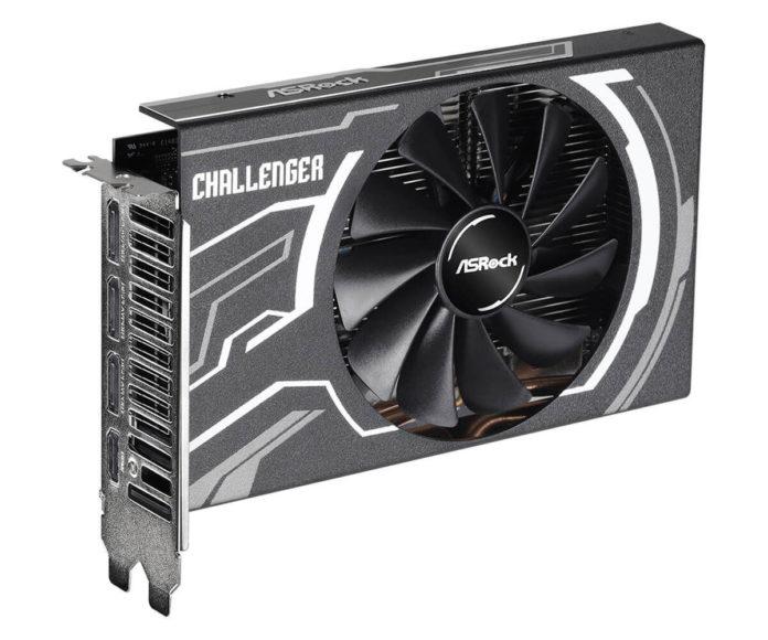ASRock Radeon RX 5500 XT Challenger ITX 8G - nowa karta mini-ITX 1