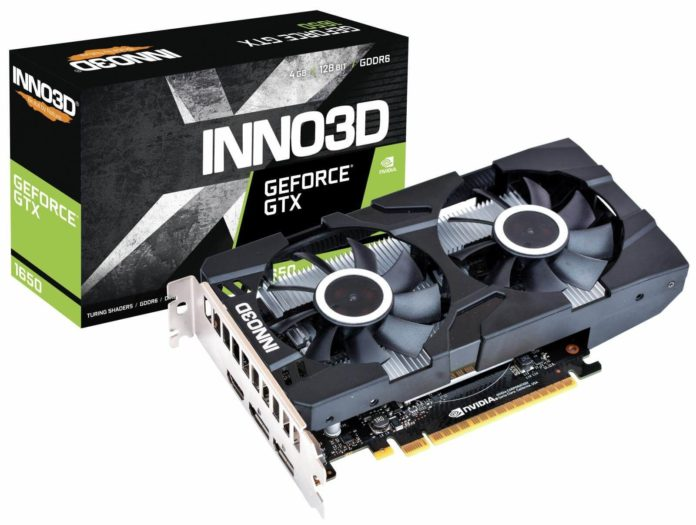 Inno3D GeForce GTX 1650 D6 Twin X2