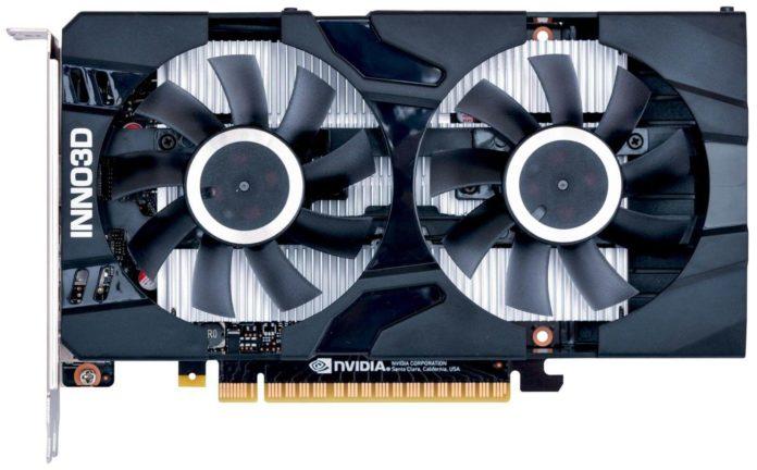 Inno3D GeForce GTX 1650 D6 Twin X2 z pamięciami GDDR6 1