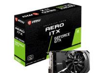 MSI GeForce GTX 1650 D6 AERO ITX
