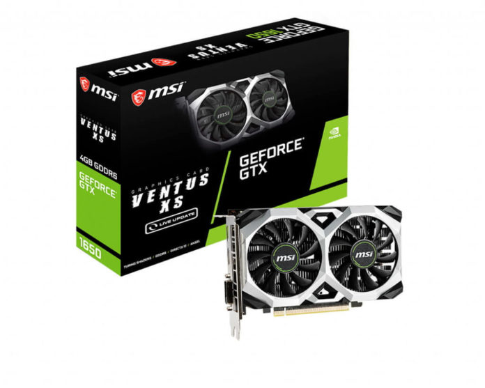 MSI GeForce GTX 1650 D6 VENTUS XS