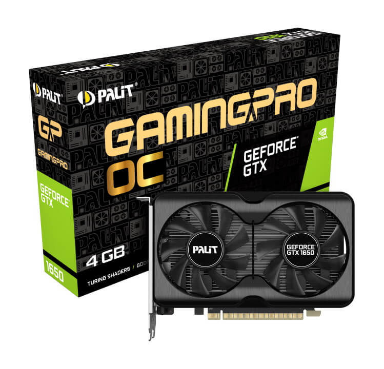 Palit GeForce GTX 1650 GP OC