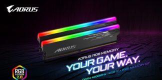 Gigabyte AORUS RGB Memory DDR4-4400 MHz 16GB