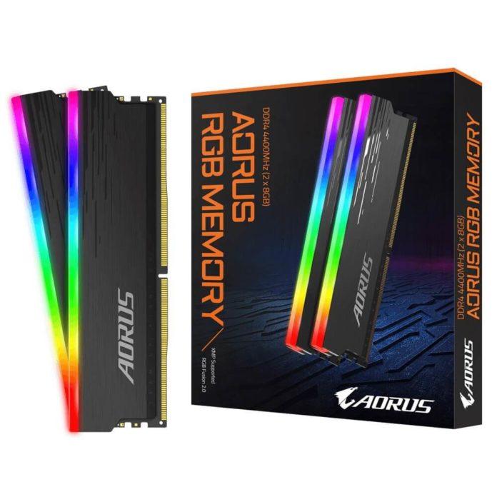 aorus rgb memory ddr4 4400 mhz 16gb 2