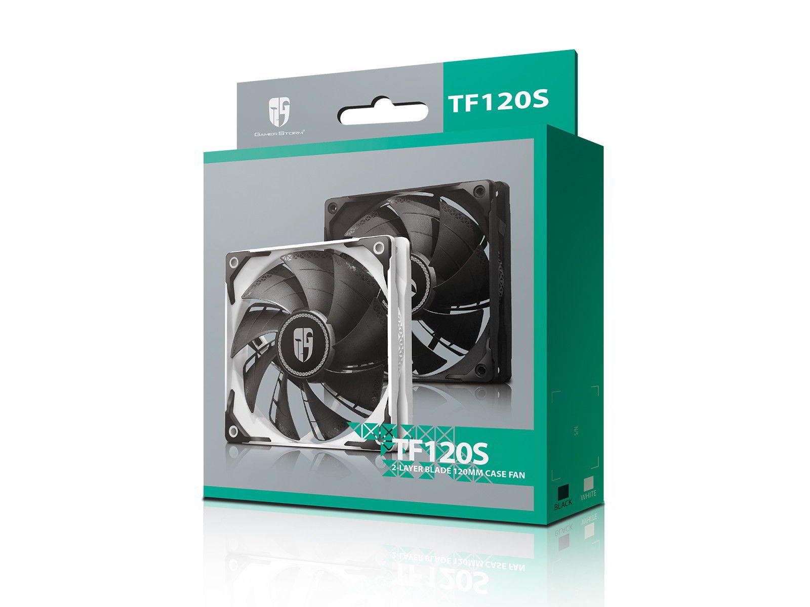 Deepcool TF120S - nowe wentylatory w kolorach białym oraz czarnym 1