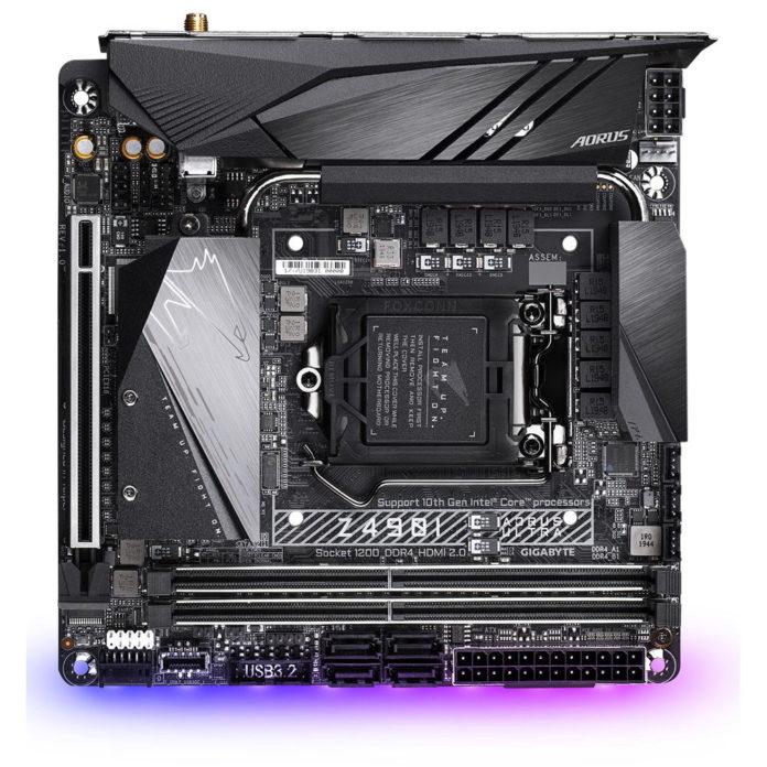 Gigabyte Z490I AORUS Ultra - nowa płyta mini-ITX dla Core 10 generacji 2