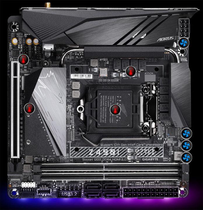 Gigabyte Z490I AORUS Ultra - nowa płyta mini-ITX dla Core 10 generacji 1