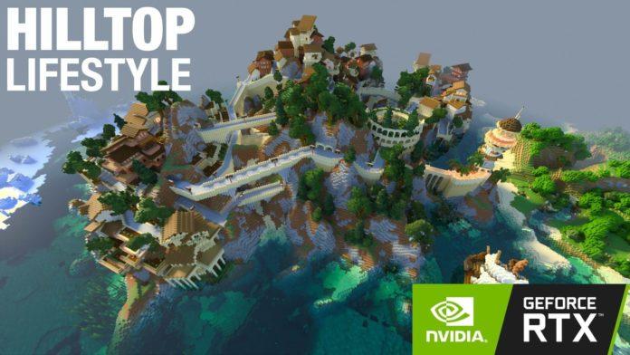 Minecraft RTX - Hilltop Lifestyle RTX