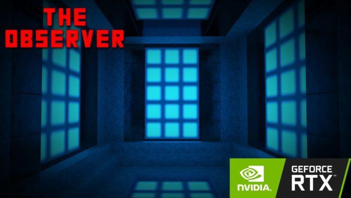 Minecraft RTX - The Observer RTX
