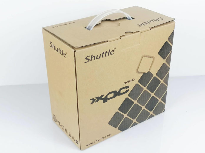 Shuttle NC10U - opakowanie