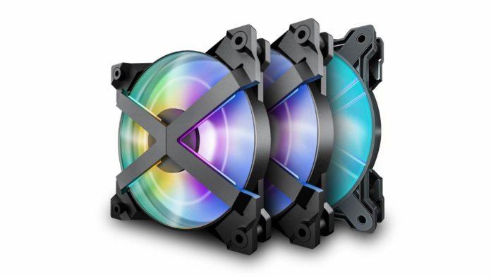 Deepcool MF120 GT - zestaw 3 wentylatorów z podświetleniem RGB 1