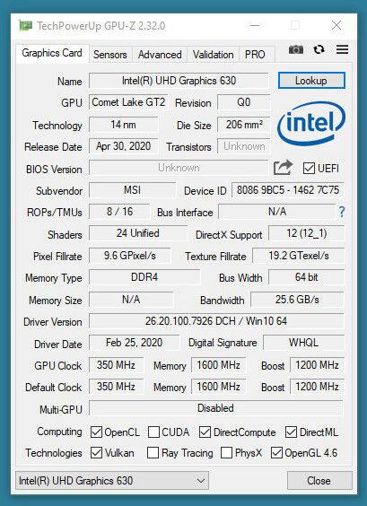 TechPowerUp GPU-Z 2.32.0 z nowościami i poprawkami błędów 2