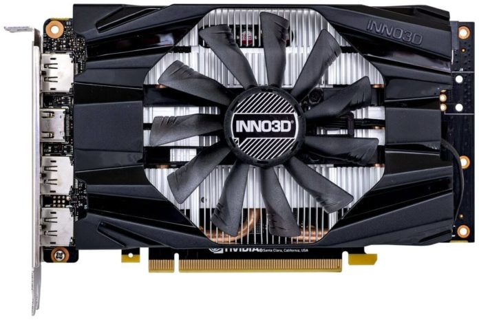 INNO3D GeForce RTX 2060 SUPER Compact – karta graficzna mini-ITX 3