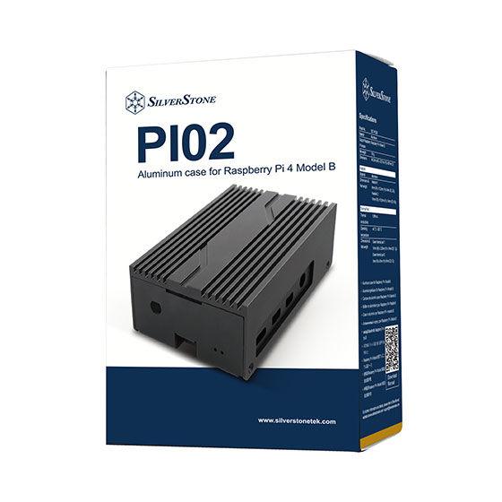 SilverStone PI02 - nowa obudowa dla minikomputera Raspberry Pi 4 Model B 1