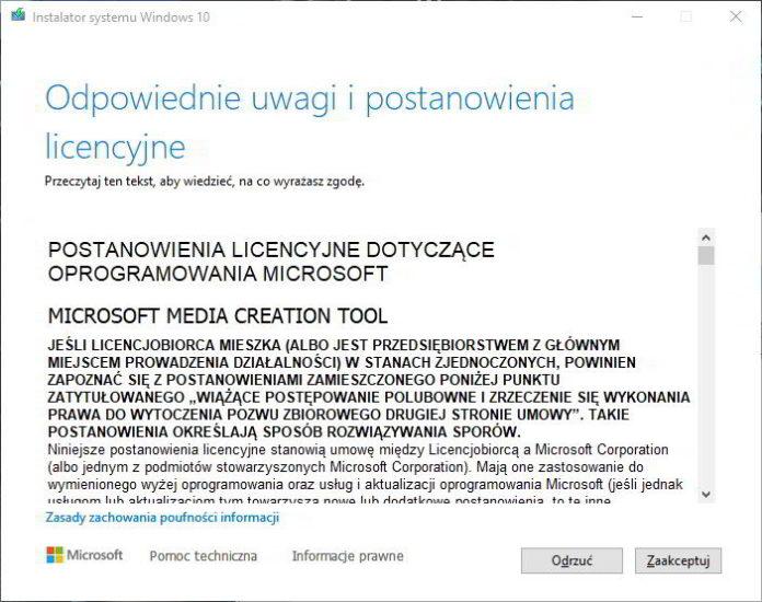 Jak pobrać i nagrać obraz systemu Windows 10 na kartę SD lub pendrive? 1