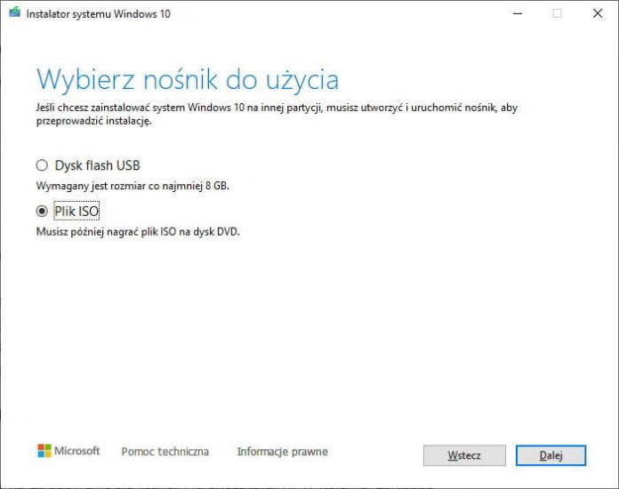 Jak pobrać i nagrać obraz systemu Windows 10 na kartę SD lub pendrive? 3