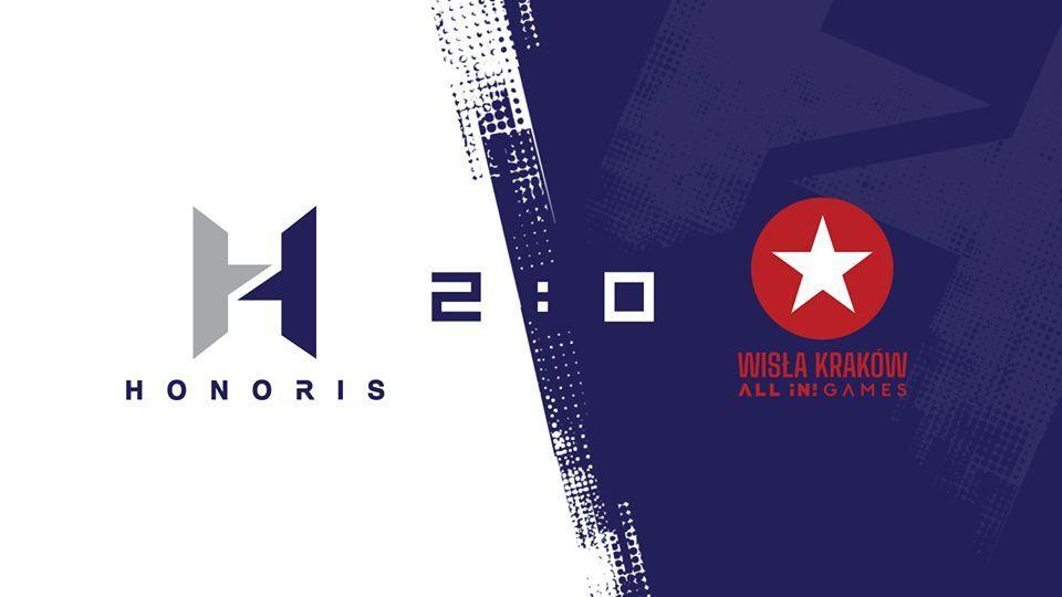 Honoris po trudnym spotkaniu pokonuje Wisłę Kraków 5