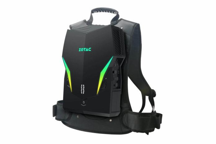 Zotac VR GO 3.0 - trzecia generacja mobilnego komputera VR 1