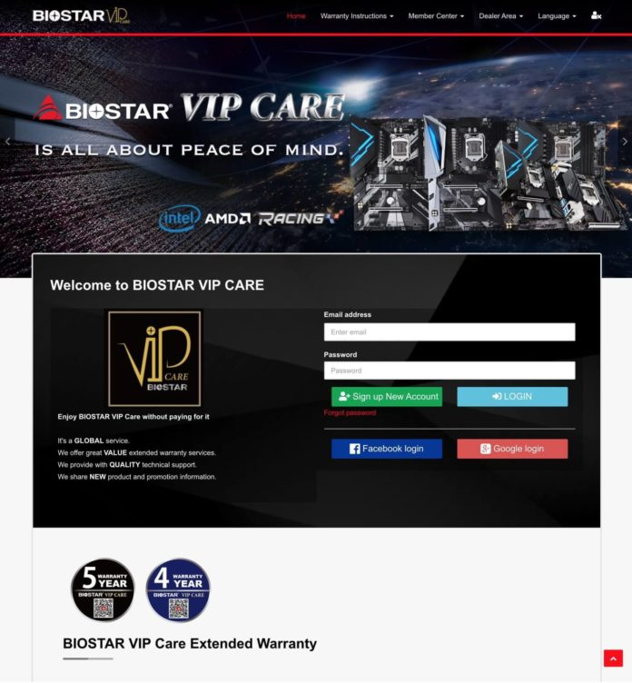 BIOSTAR VIP CARE