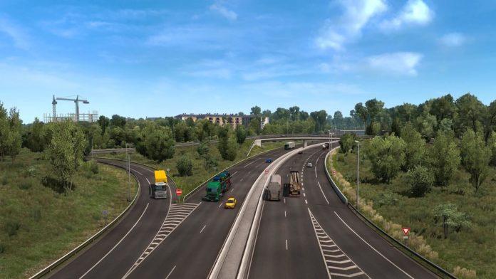 Euro Truck Simulator 2 - aktualizacja 1.38 - miasto Lillie