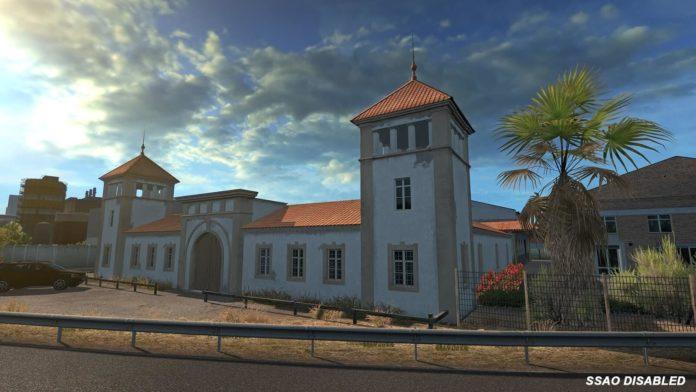 Euro Truck Simulator 2 - aktualizacja 1.38 - SSAO