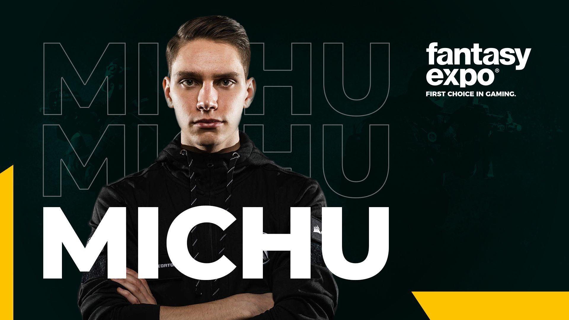 "Michał ""MICHU"" Müller nawiązuje współpracę z Fantasyexpo 1"