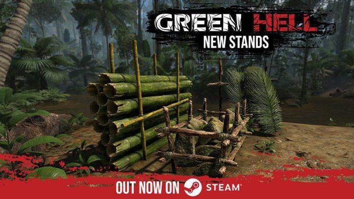Green Hell - nowe stojaki