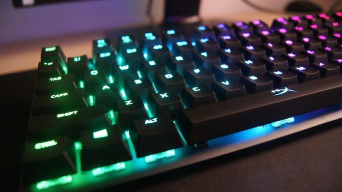HyperX Alloy Origins - Podświetlenie RGB
