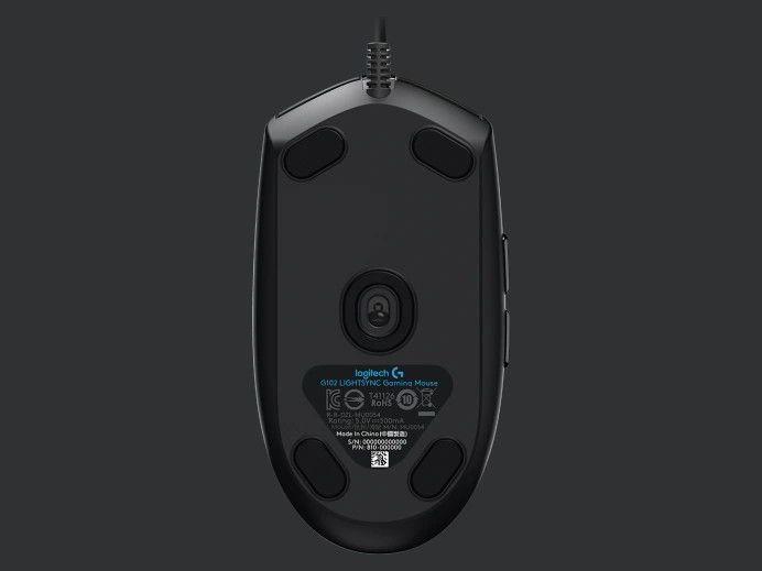Mysz Logitech G102 LIGHTSYNC zapewnia gamingową wydajność 1
