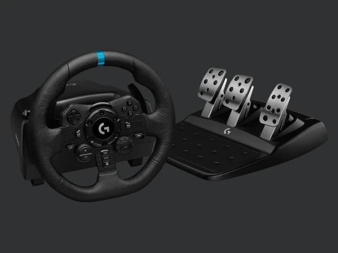 Logitech G923 - kierownica i pedały z technologią TRUEFORCE 3