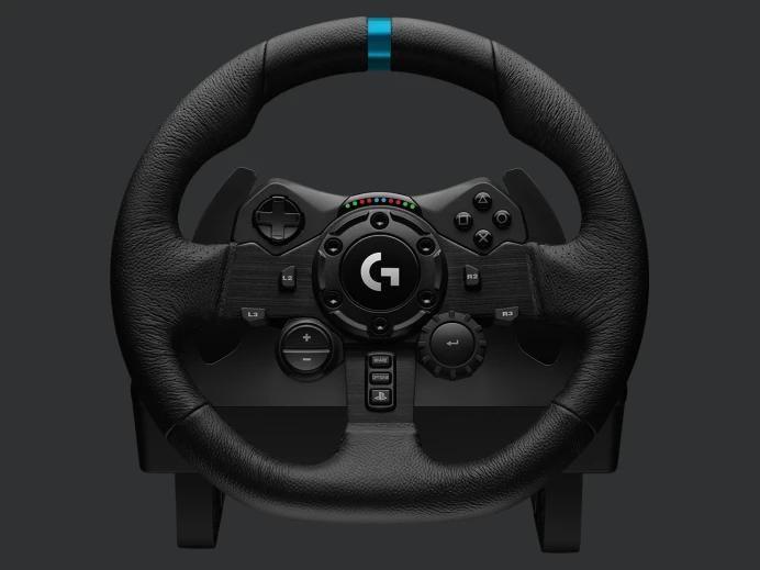 Logitech G923 - kierownica i pedały z technologią TRUEFORCE 2