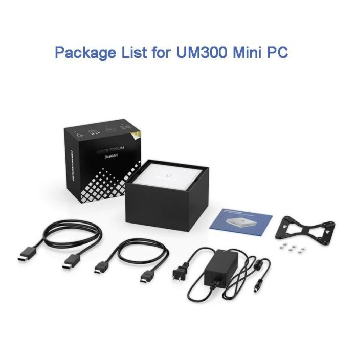 Minisforum UM300 - minikomputer z procesorem Ryzen 3 3300U 2