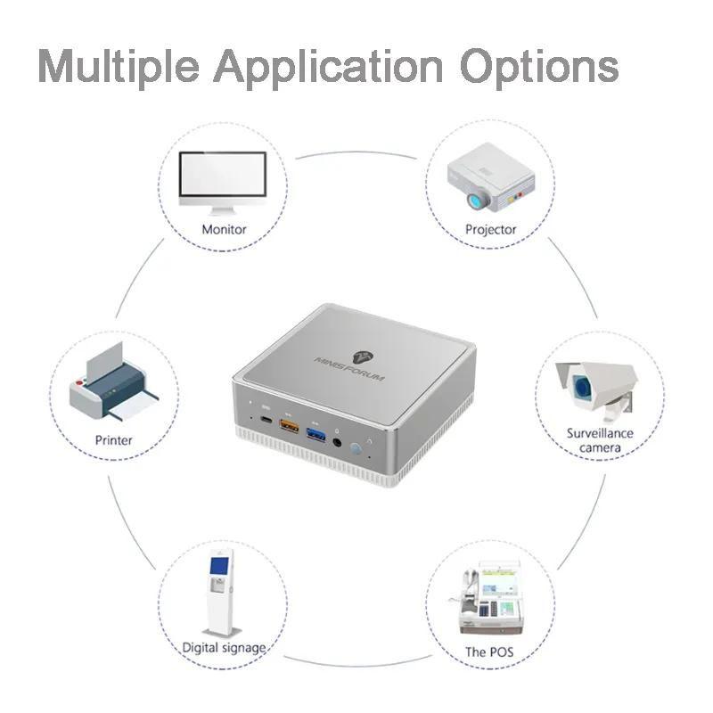 Minisforum UM300 - minikomputer z procesorem Ryzen 3 3300U 1